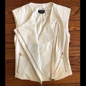 Bebe faux leather vest